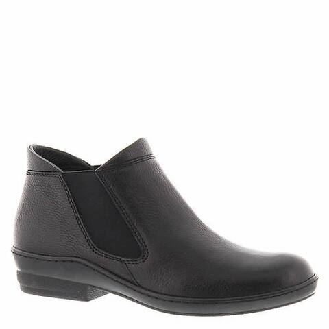 David Tate Womens London Leather Round Toe Ankle Chelsea Boots