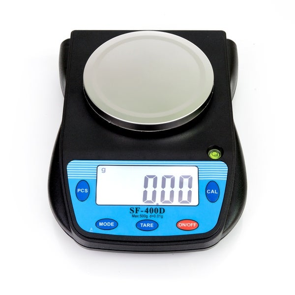 500g/0.01g Portable Electronic Laboratory Scale Black. Opens flyout.