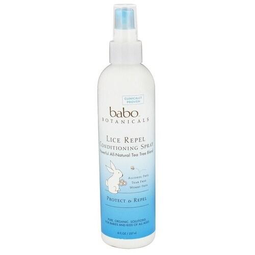Babo Botanicals - Rosemary Lice Repel Conditioning Spray ( 1 - 8 FZ)
