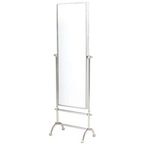Cyan Design Cassius Mirror 58.25 x 19.25 Cassius Rectangular Aluminum and Iron Mirror Made in India