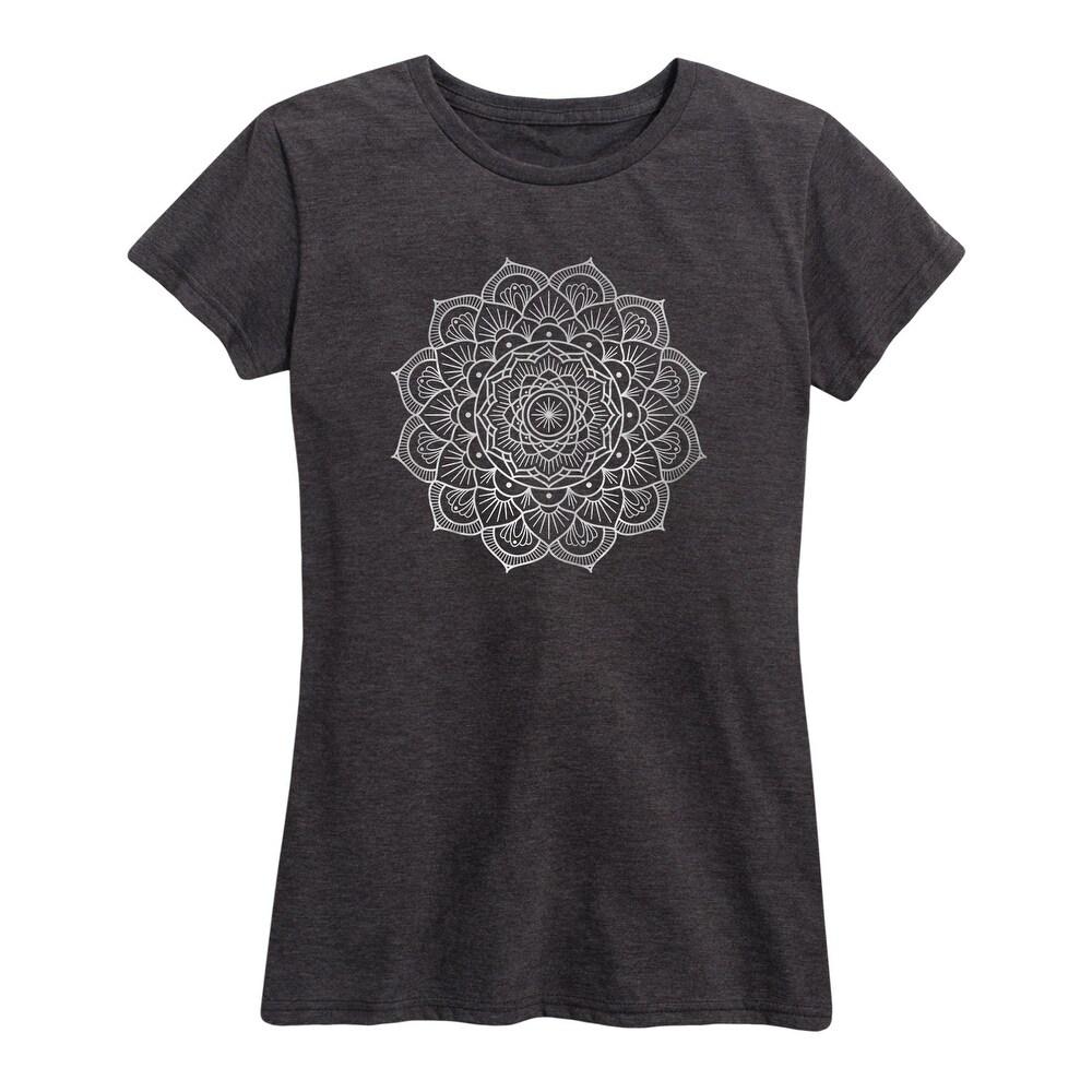 Mandala - Womens Short Sleeve Graphic T-Shirt