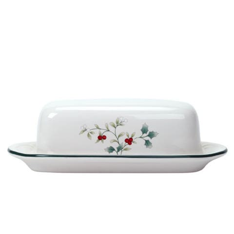 Pfaltzgraff Winterberry Covered Butter Dish - N/A
