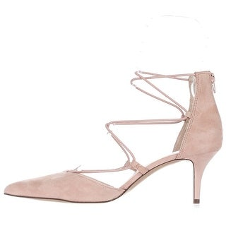 INC International Concepts Womens Daree Leather Pointed Toe Ankle Strap