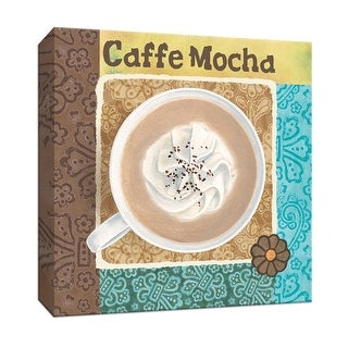 "PTM Images 9-153522  PTM Canvas Collection 12"" x 12"" - ""Caffe Mocha"" Giclee Coffee, Tea & Espresso Art Print on Canvas"