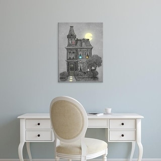 Easy Art Prints Terry Fan's 'Haunted By The 80'S' Premium Canvas Art