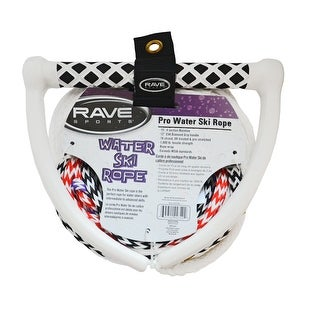 Rave Sports 75' 4-Section Ski Rope w/NBR Tractor Grip - Pro