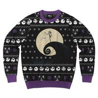 Nightmare Before Christmas Classic Nightmare-1 Men's Ugly Christmas Sweater