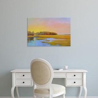 Easy Art Prints Holly Ready's 'Summer Marsh 2' Premium Canvas Art