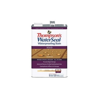 Thompsons WaterSeal Harvest Gold Solid Stain