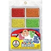 Rainbow - Perler Mini Beads Fused Bead Tray 8;000/Pkg