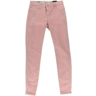 Rich & Skinny Womens Detour Legging Reversible Low-Rise Colored Skinny Jeans - 26