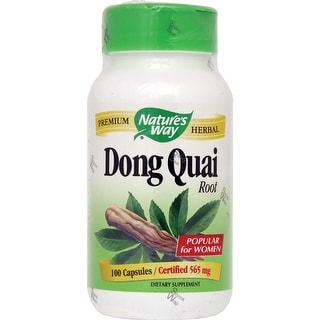 Nature's Way Dong Quai Root (100 Veggie Capsules)
