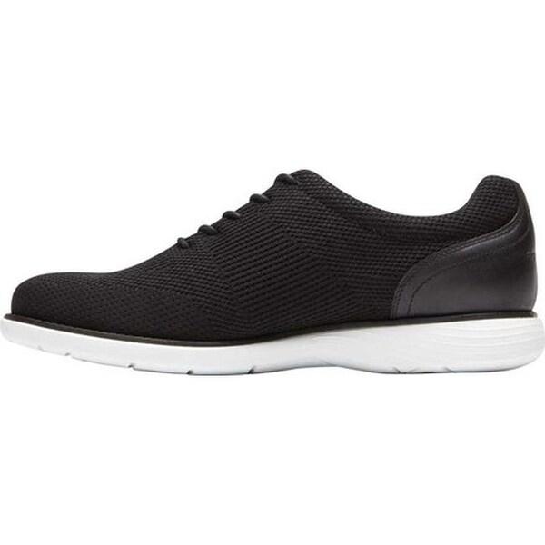 Garett Mesh Plain Toe Shoe Black Mesh