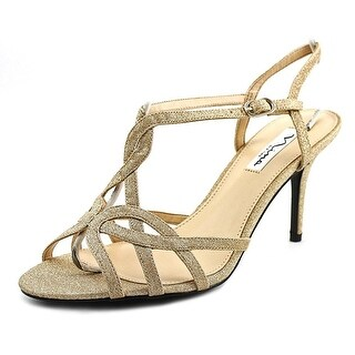 Nina Womens Vencie Open Toe Ankle Strap Classic Pumps