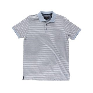 Argyle Culture Mens Polo Shirt Heathered Striped