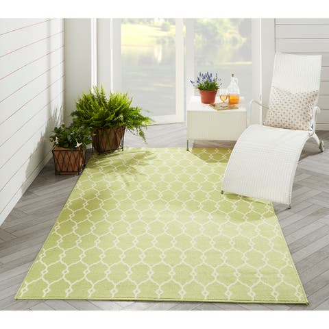 Momeni Baja Trellis Indoor Outdoor Rug