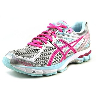 Asics Gel-Nimbus 18 Women Round Toe Synthetic Silver Running Shoe