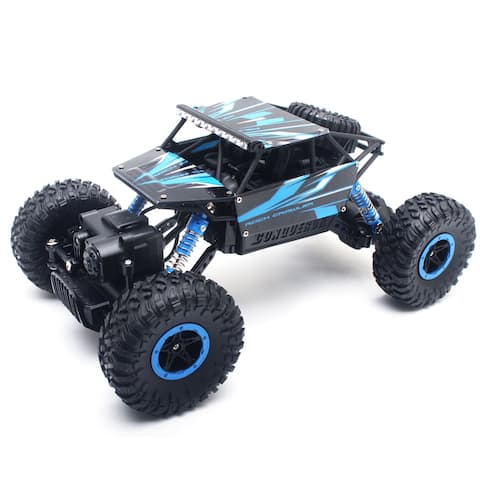 1/18 2.4GHZ 4WD Racing Rock Off-Road RC Car ATV Buggy Monster Crawler Truck