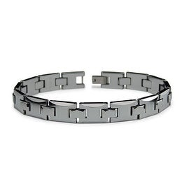 Tungsten Carbide Bracelet - 9 inches