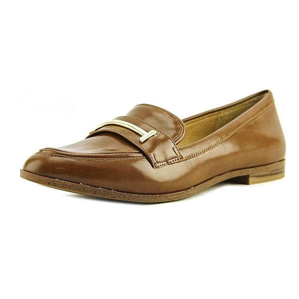 Alfani Womens Ameliaa Leather Closed Toe Loafers