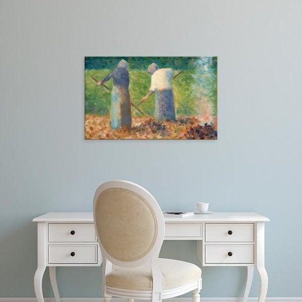 Easy Art Prints National Gallery of Art's 'Haymakers' Premium Canvas Art