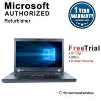 "Refurbished Lenovo ThinkPad T530 15.6"" Laptop Intel Core I7 3520M 2.9G 8G DDR3 500G DVDRW Win 10 Professional 64 1 Year Warranty"