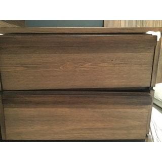 Carbon Loft Joshua Rustic Natural Tone 2-drawer Nightstand
