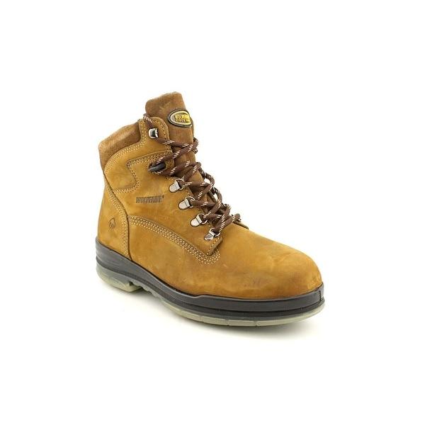 Wolverine Durashocks Men  Round Toe Leather  Work Boot