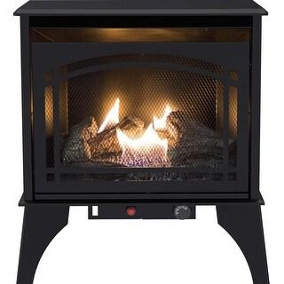 Pleasant Hearth VFS2-PH20DT 20000 BTU 23.5 in Compact Vent Free Gas Stove - Black