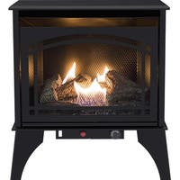 Pleasant Hearth VFS2-PH20DT 20000 BTU 23.5 in Compact Vent Free Gas Stove - Black