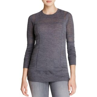 Vince Womens Pullover Sweater Wool Crew Neck