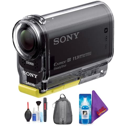 Sony HDR-AS20 HD POV Action Cam + Pro Accessories Bundle