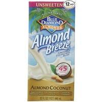 Almond Breeze Almondmilk Coconutmilk Blended - Unsweetened - Case of 12 - 32 fl oz