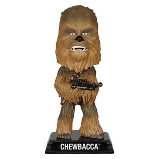 "Star Wars The Force Awakens Wacky Wobbler 7"" Bobble Head Chewbacca"