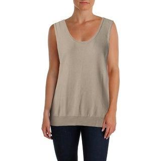 Lauren Ralph Lauren Womens Sleeveless Knit Pullover Top - XL