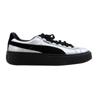 more photos 80d4b 0d5b5 Shop Puma Basket Heart Hyper Embroidered Puma Black Women's ...