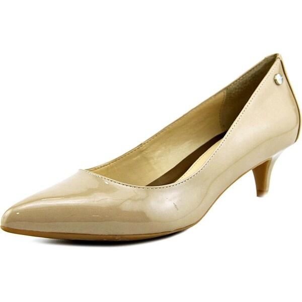 Calvin Klein Womens Shoes, Nicki Kitten Heel Pumps All