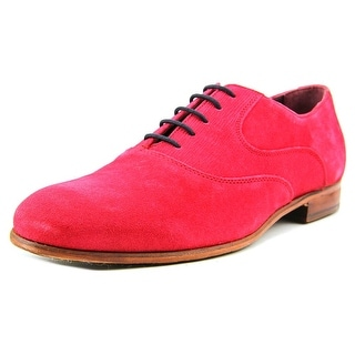 Ted Baker Luhwice Men Round Toe Suede Red Oxford