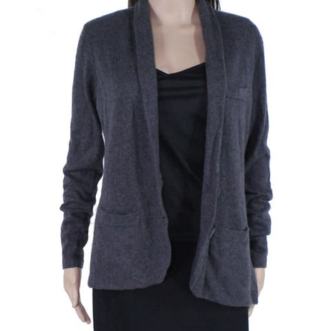 Tart Womens Sweater Gray Size Small S Cardigan Button Front Stretch