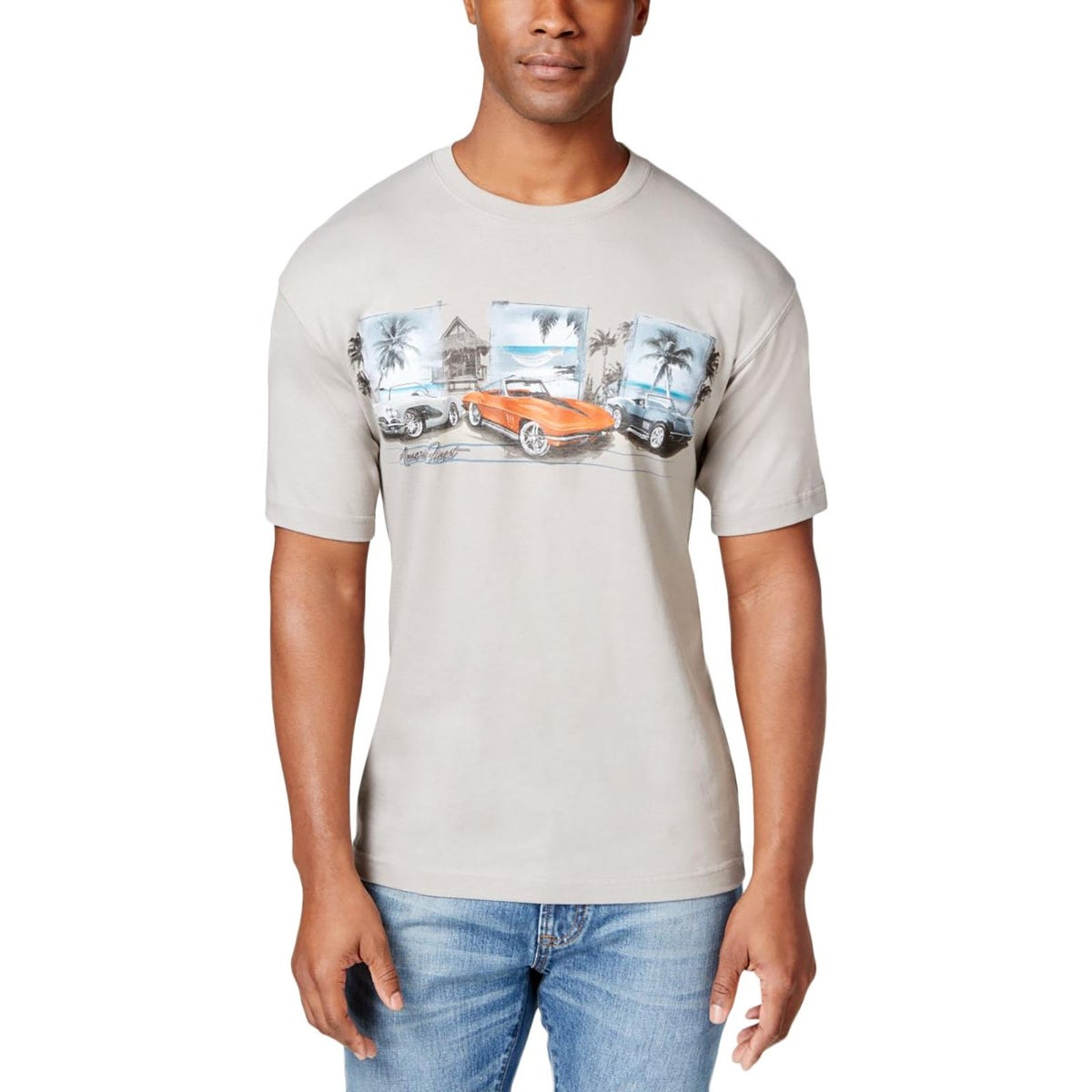 8ea530e39 Shop Newport Blue Mens Big & Tall T-Shirt Graphic Crew Neck - lt - Free  Shipping On Orders Over $45 - Overstock - 20717687