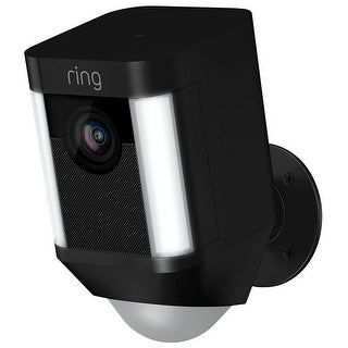 Ring 8SB1S7-BEN0 Spotlight Cam Battery Security Camera, Black