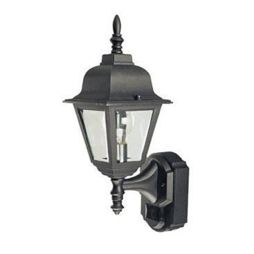 Heath Zenith HZ-4191-BK Motion Activated Outdoor Light, 17.375""