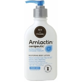 AMLACTIN Cerapeutic Alpha-Hydroxy Ceramide Therapy Restoring Body Lotion, Fragrance Free 7.9 oz
