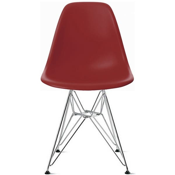 Superb Shop 2Xhome Modern Side Dining Chair Red With Wire Chrome Beatyapartments Chair Design Images Beatyapartmentscom