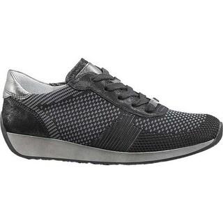 ara Women's Lilly 34027 Sneaker Black Woven