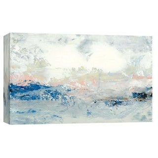 """PTM Images 9-101908  PTM Canvas Collection 8"""" x 10"""" - """"Coastal Seascape 12"""" Giclee Abstract Art Print on Canvas"""