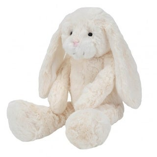 JOON Blanco Floppy Ear Sitting Bunny, Cream, 12 Inches - White