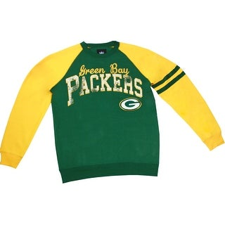 Green Bay Packers Sweatshirt with Embroidered Logo