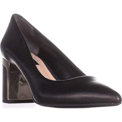 DKNY Womens Elie-Mid Pointed Toe Classic Pumps