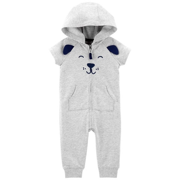 38d9260f7503 Shop Carter s Baby Boys  Hooded Jumpsuit